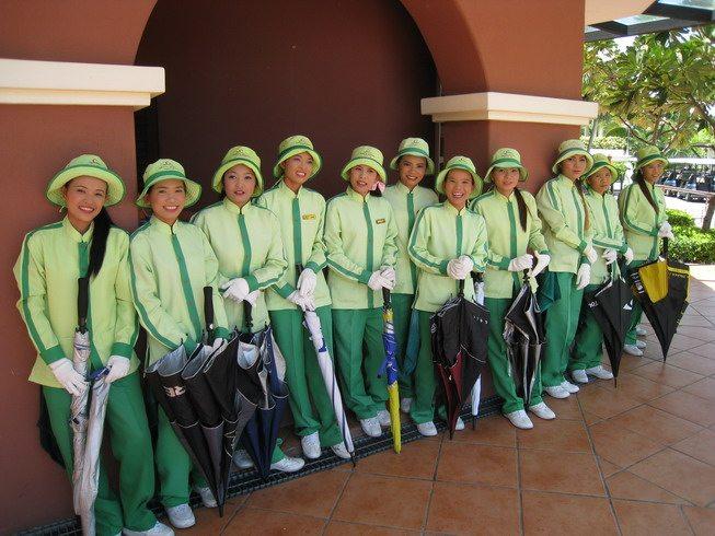 Thai Golf Caddies