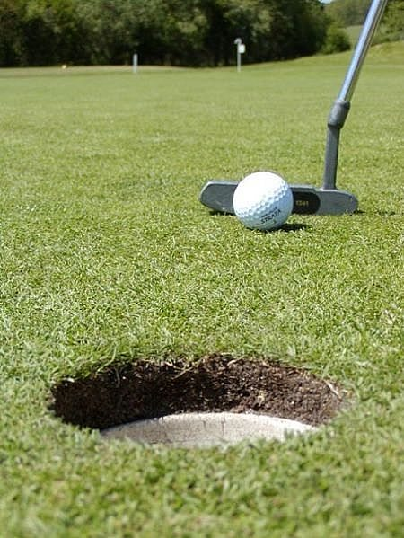 Thailand Golf Putting Grass