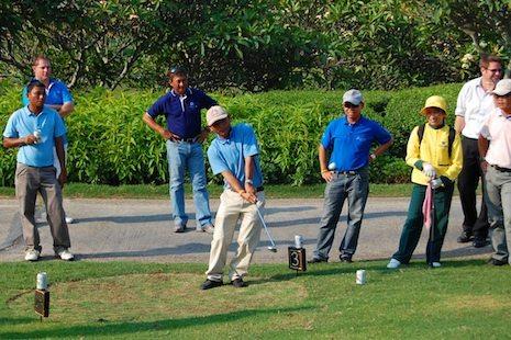 Thailand Golf Chip Shot