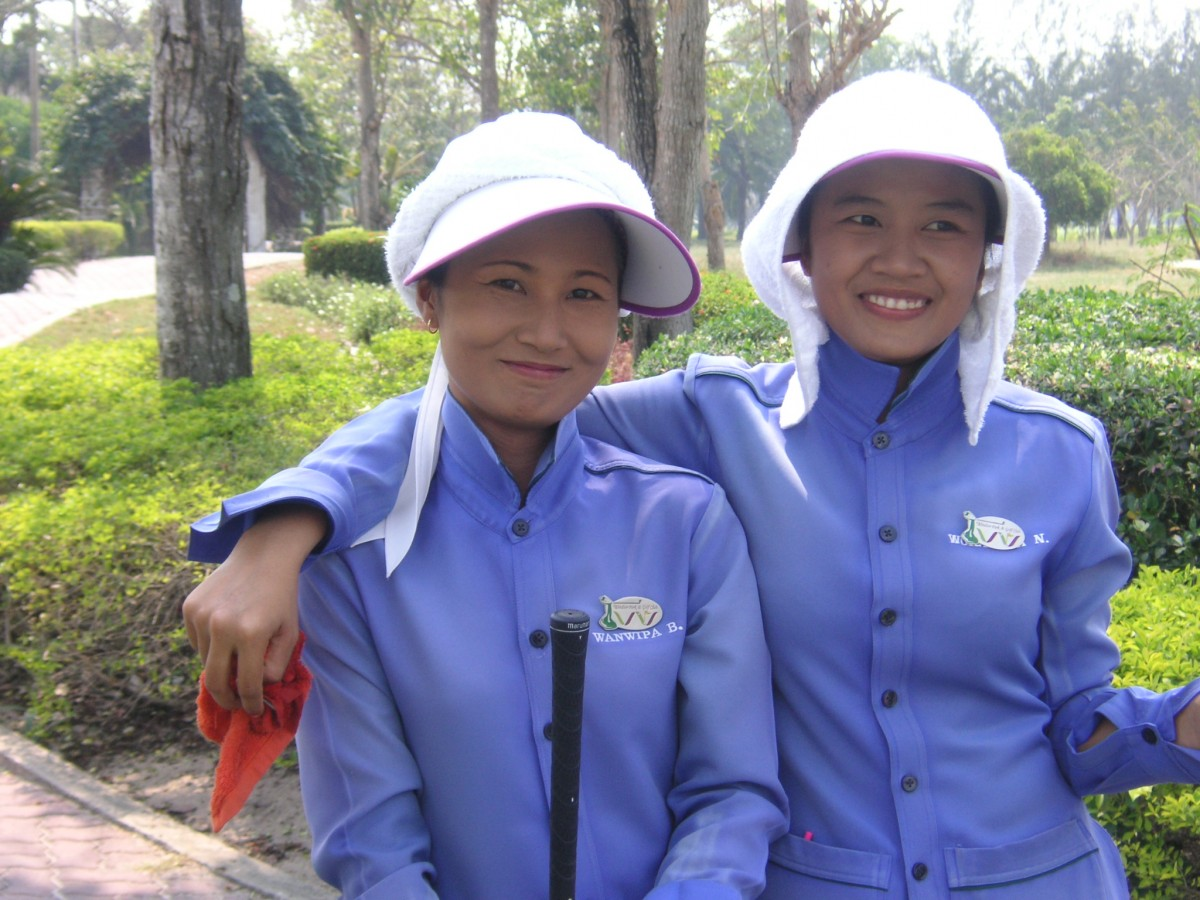Thailand Golf Caddies