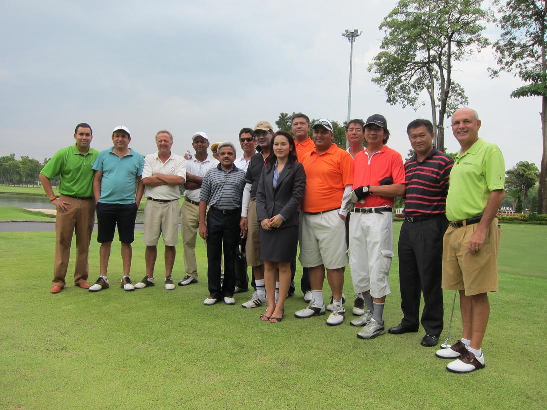 Thialand Golfers