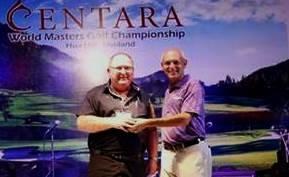 Graham and Mark S at Centara Masters