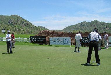 Thailand Golf Practice Green