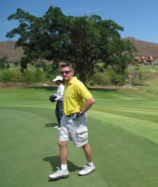 Thailand Golfer