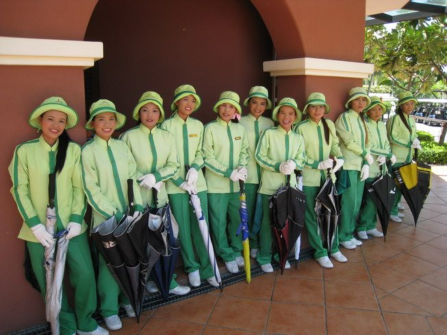 Thai Golf Caddies