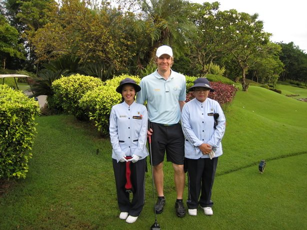 Golfer In Thailand